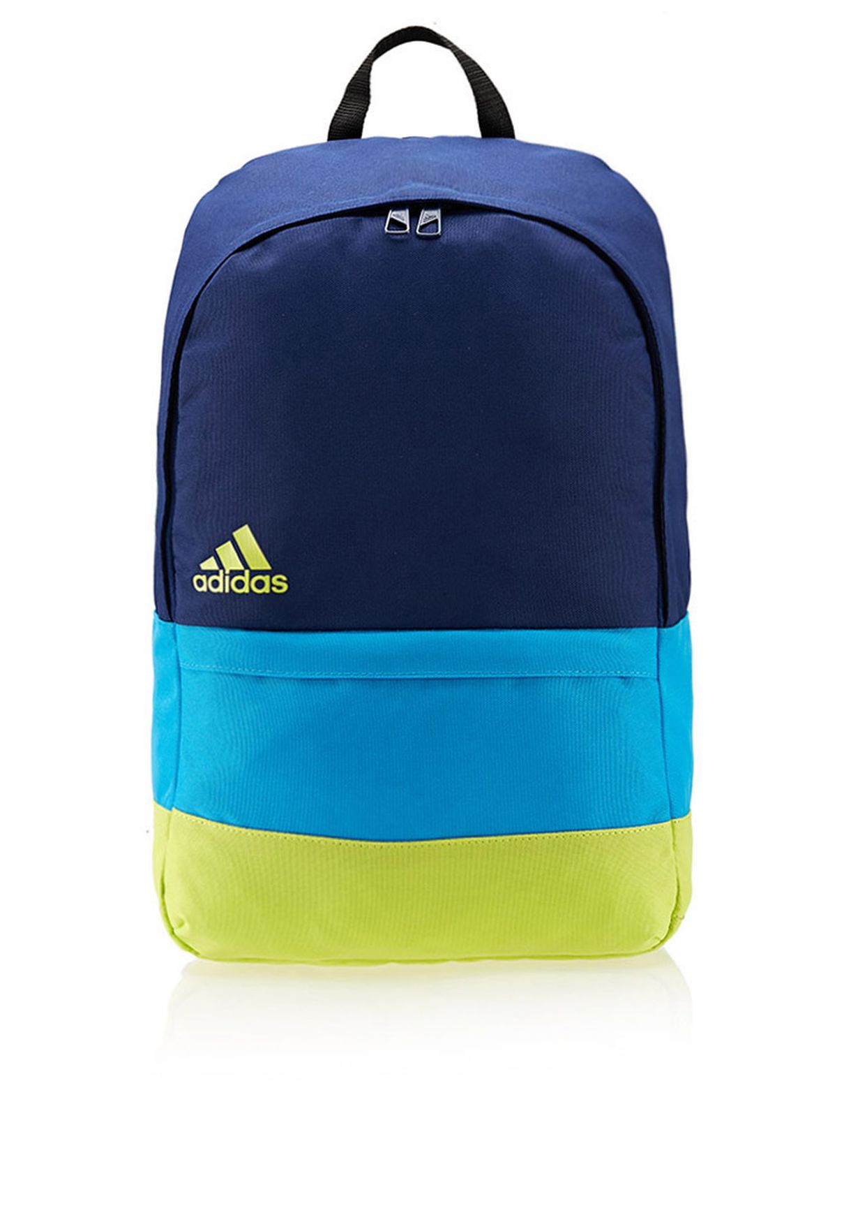 e4603ee7936a Shop adidas blue Versatile Block Backpack F49832 for Men in Qatar -  AD476AC57RXY