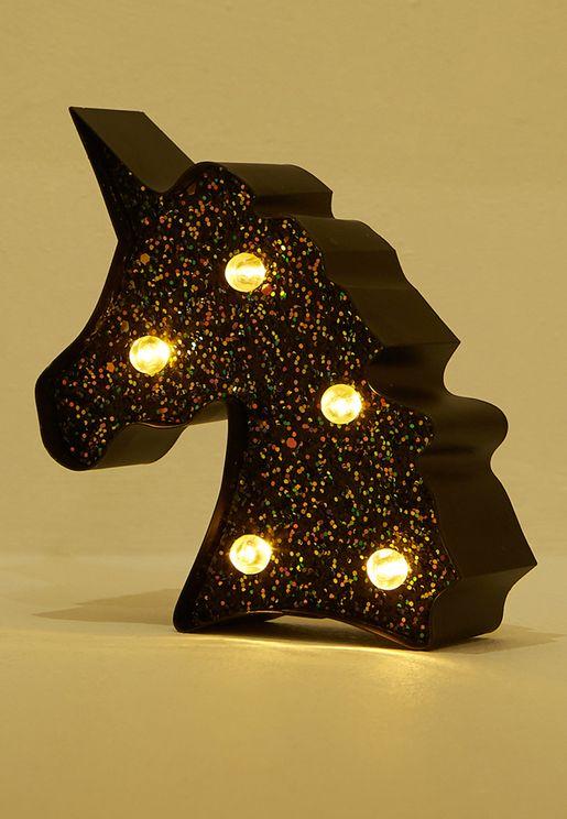 Mini Unicorn Glitter Light