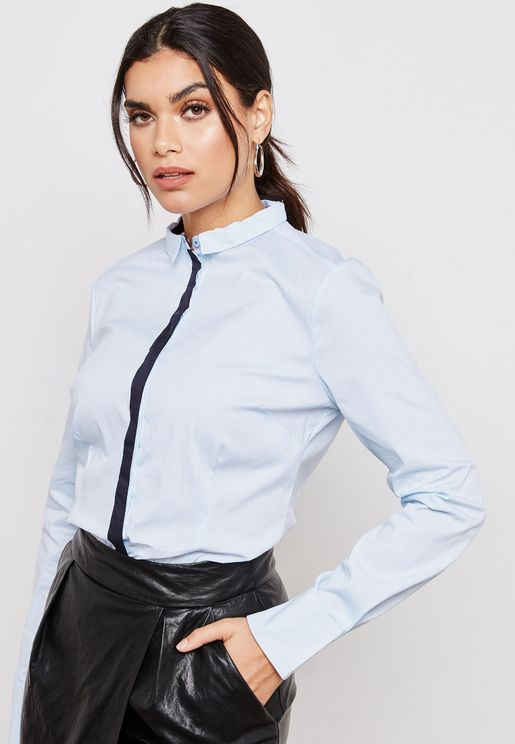 Front Contrast Shirt