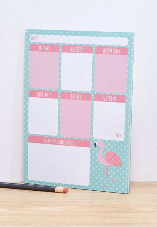 Tropical Planner Pad