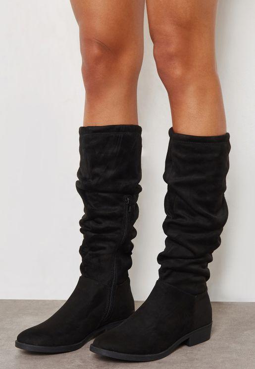 Bumpy Knee Boot
