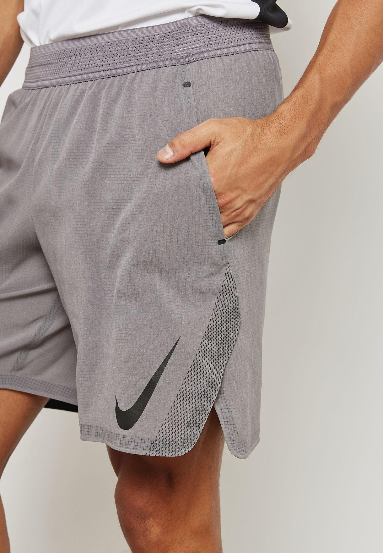 3176d5b6020d Shop Nike grey Flex Repel Shorts 885962-036 for Men in UAE ...