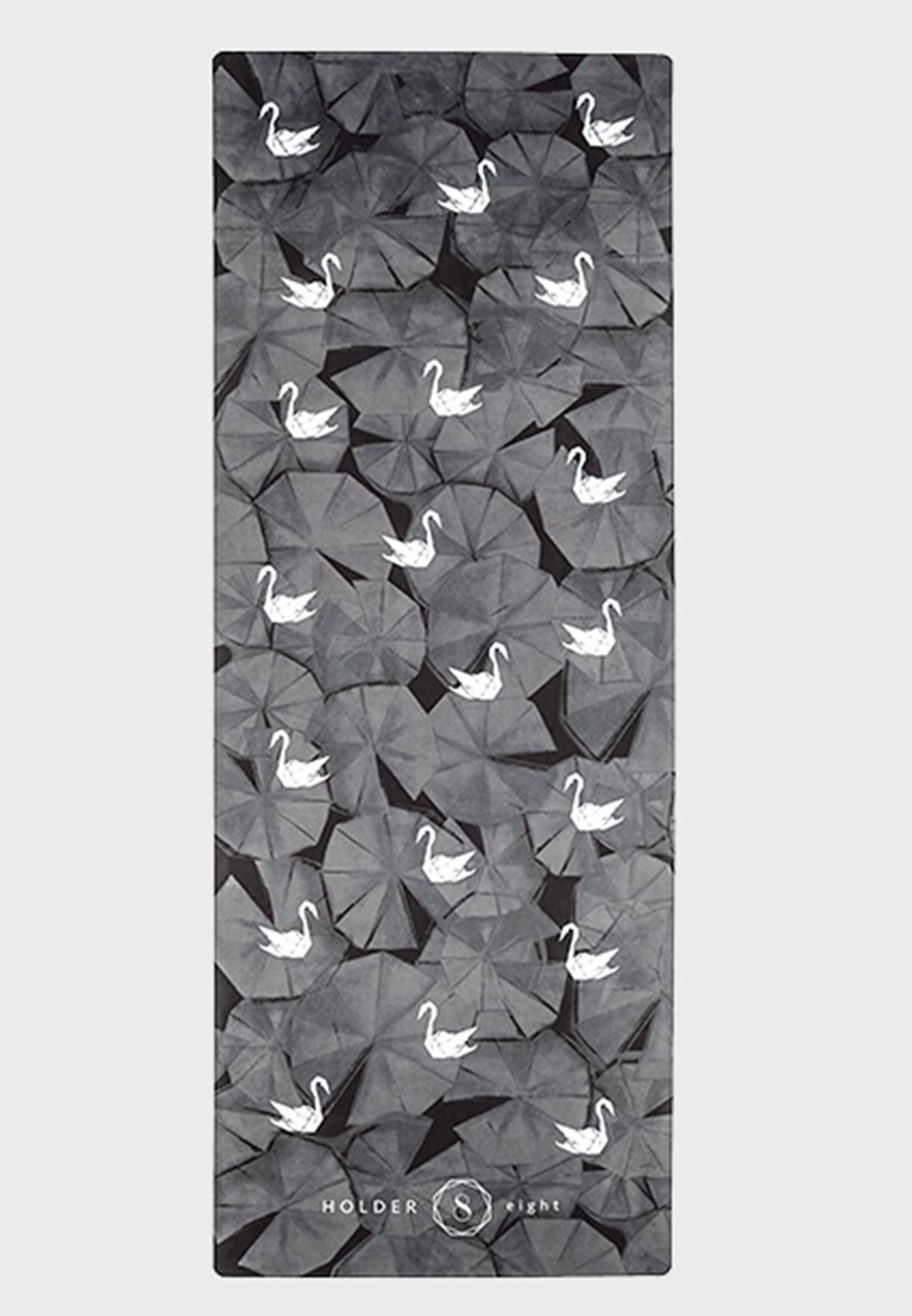 Origami Swan Yoga Mat