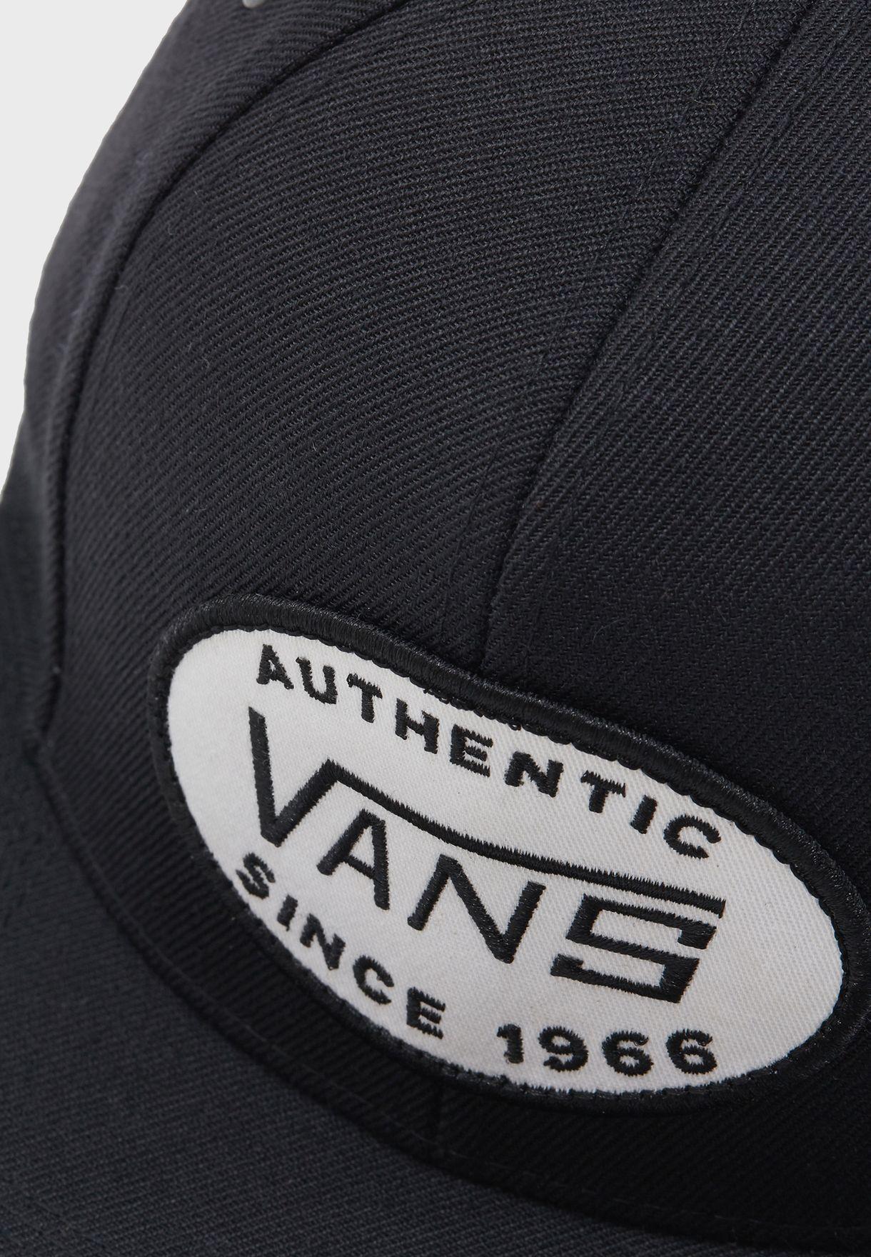 Shop Vans black Adland 8 Panel Strapback VA36YZBLK for Men in UAE ... 37d423a6459f