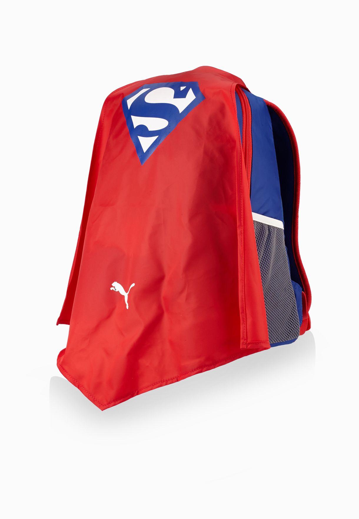 0619ad0b38ef9 Shop PUMA blue Superman Cape Backpack 7359501 for Kids in UAE ...