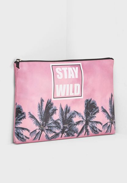 "Laptop Sleeve 15"" - Palm Tree Print"