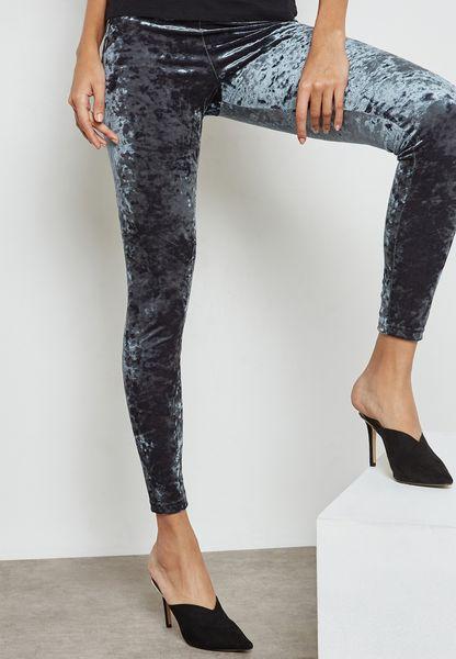 Crushed Velvet Leggings