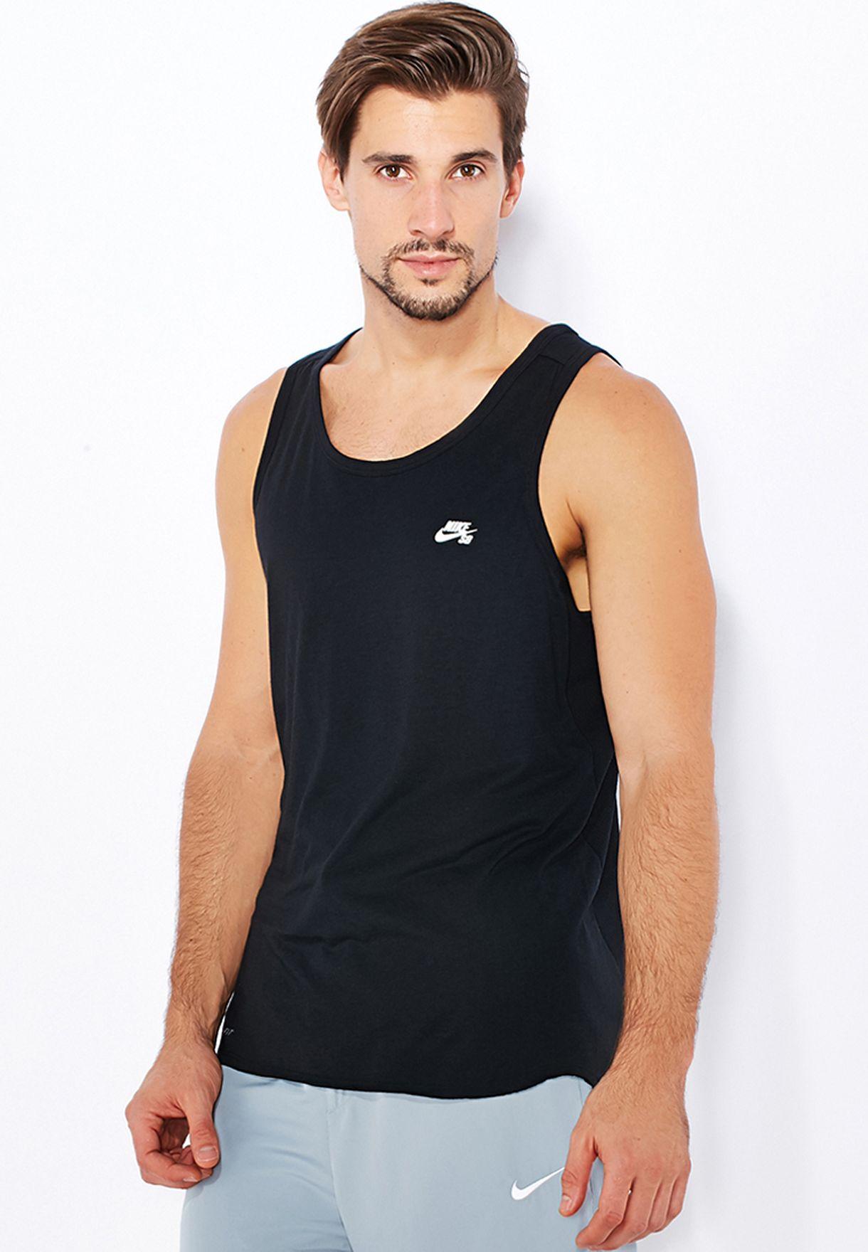 47db44df4 Shop Nike black SB Skyline Vest 666325-010 for Men in Kuwait ...