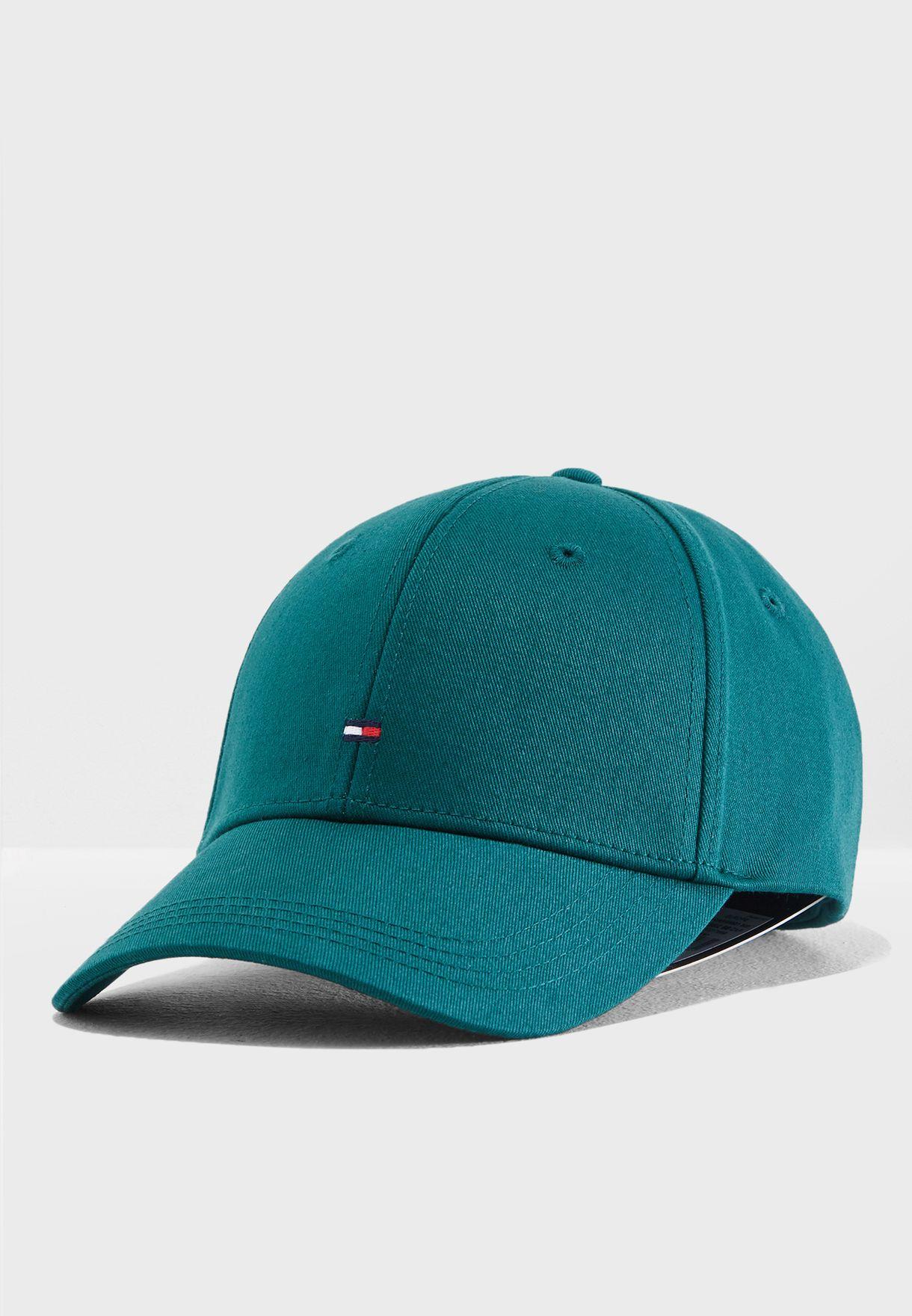 c7a0ef6b2cf Shop Tommy Hilfiger green Logo Classic Cap AM0AM03531-333 for Men in Oman -  TO279AC47VHC
