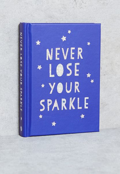 كتاب( Never Lose Your Sparkle)