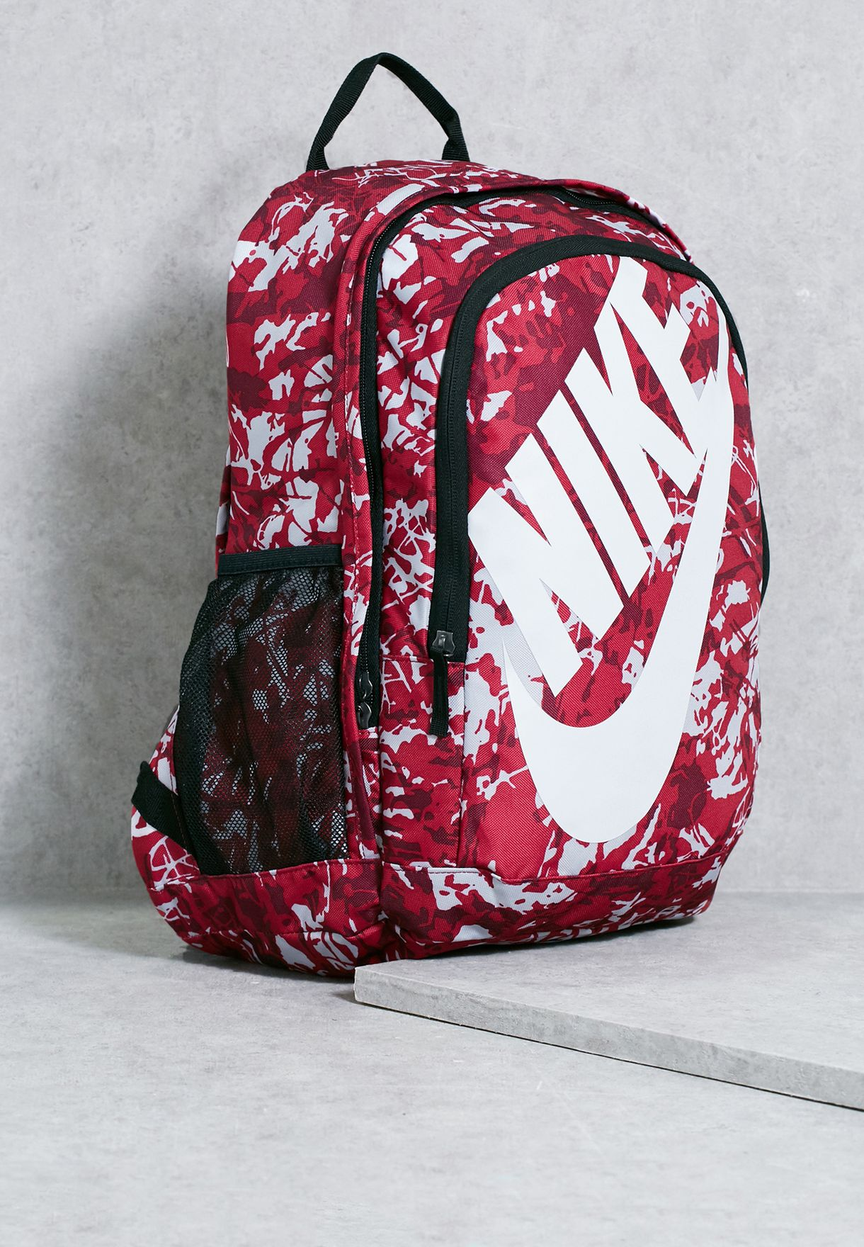 ec750fe7e4 Shop Nike prints Hayward Futura 2.0 Printed Backpack BA5273-607 for ...