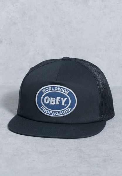 Obey Oval Patch Trucker