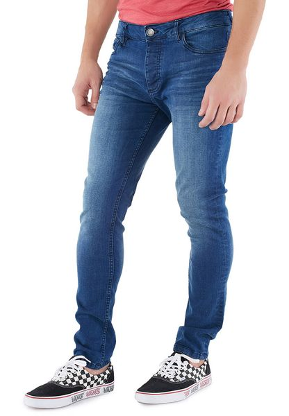 Conway Skinny Fit Mid Wash Jeans