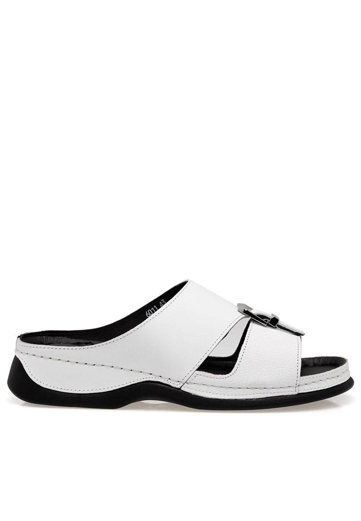comfortable white dress sandals