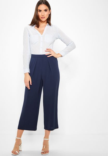 Wide Leg Crop Pants