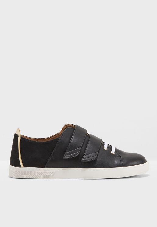 Flat Double Velcro Sneaker