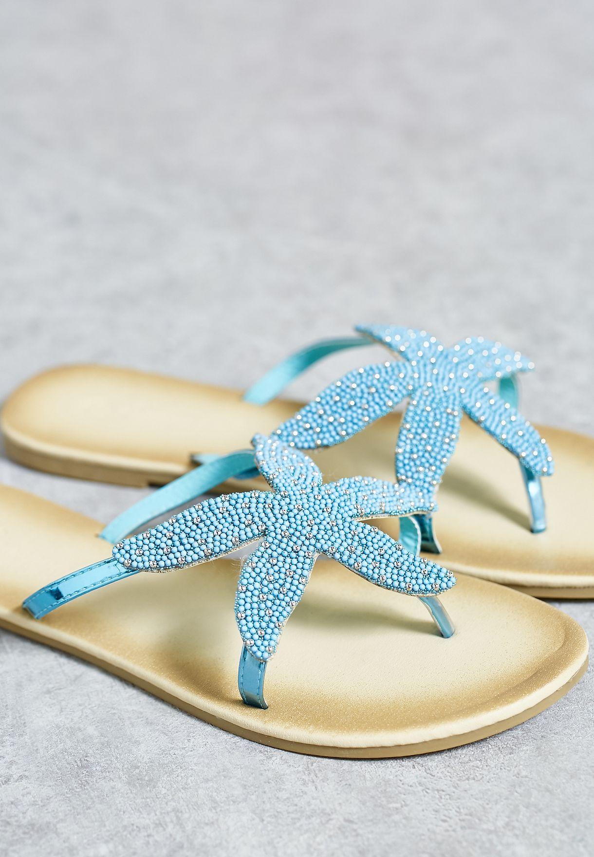 Starfish Flat Sandals