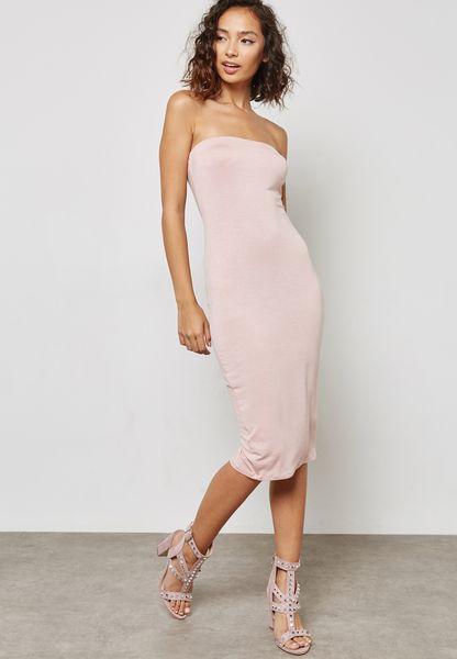 Bandeau Bodycon Dress