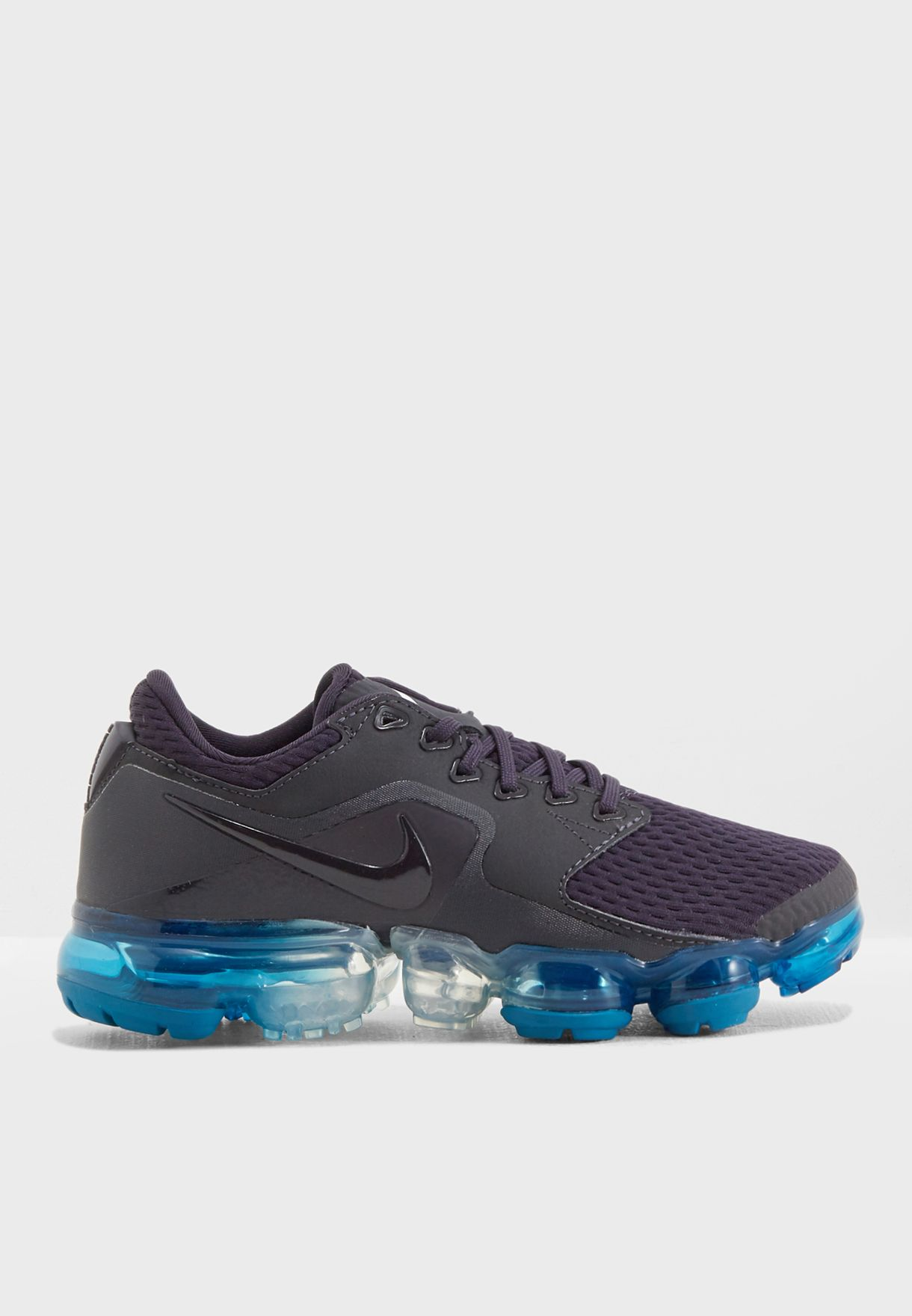 416b32e42b92 Shop Nike grey Youth Air Vapormax 917963-031 for Kids in Qatar ...