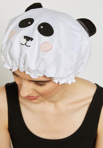 Panda Shower Cap