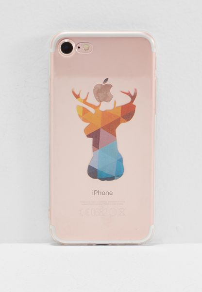 Geometric Deer Head iPhone 7 Case