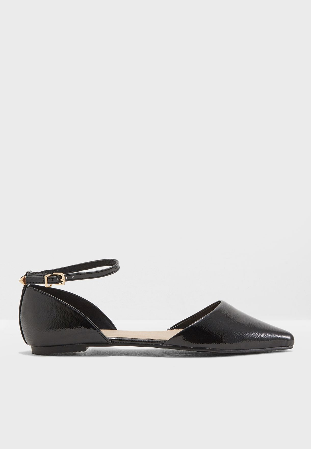 2895d941912 Shop Topshop black Annie Pointed Shoes 42A37MBLK for Women in Bahrain -  TO856SH47NJK