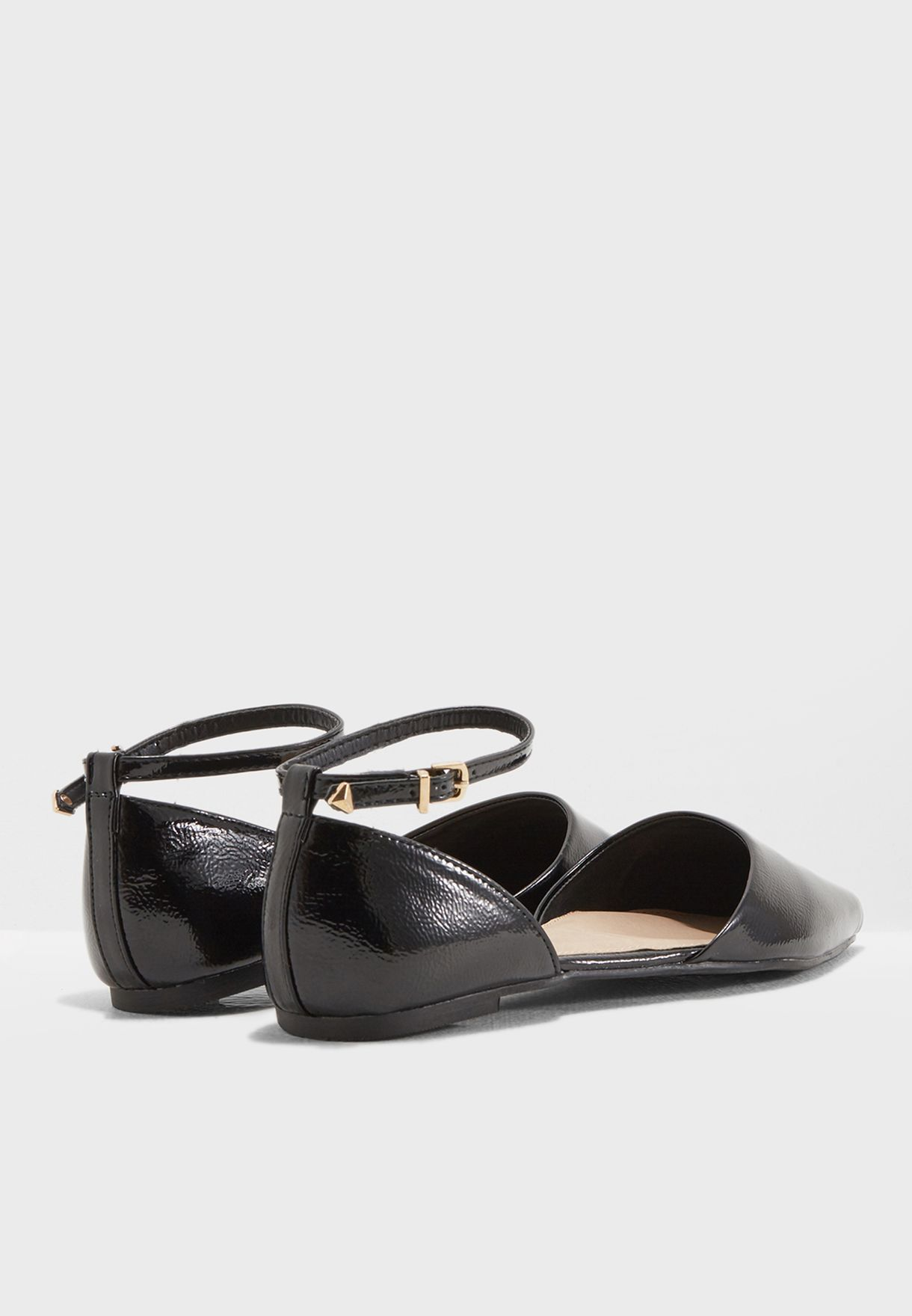 f54742fdc47 Shop Topshop black Annie Pointed Shoes 42A37MBLK for Women in Qatar ...