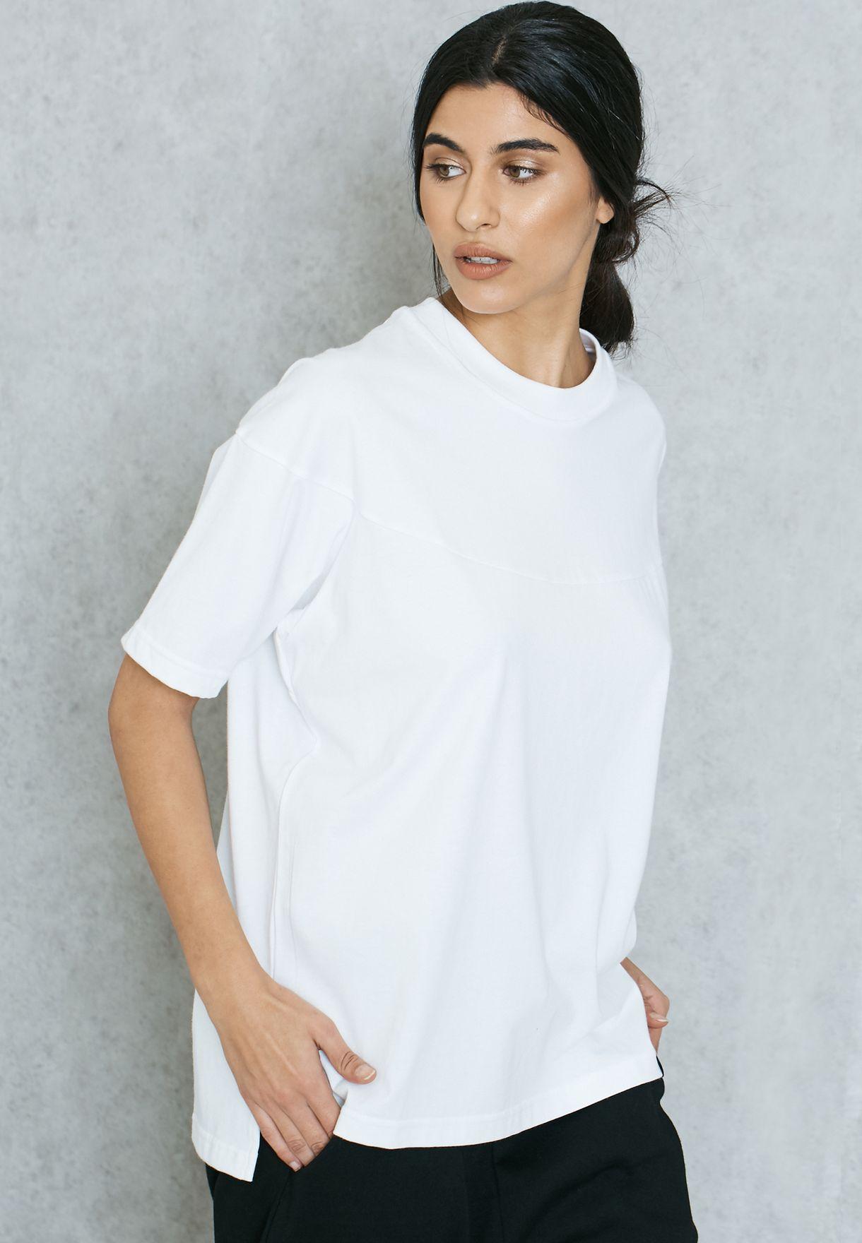 Tienda adidas Originals blanco xbyo t shirt bk2299 para las mujeres en Kuwait