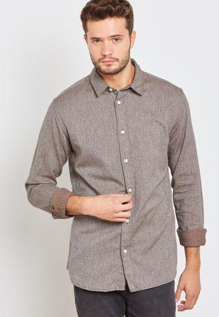 f7e59cbe44 Shop Only sons blue Mourinho Western Denim Shirt 22011711 for Men in ...