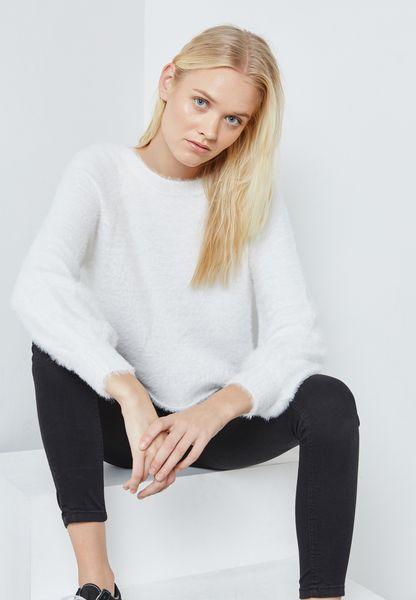 Cuffed Sweater