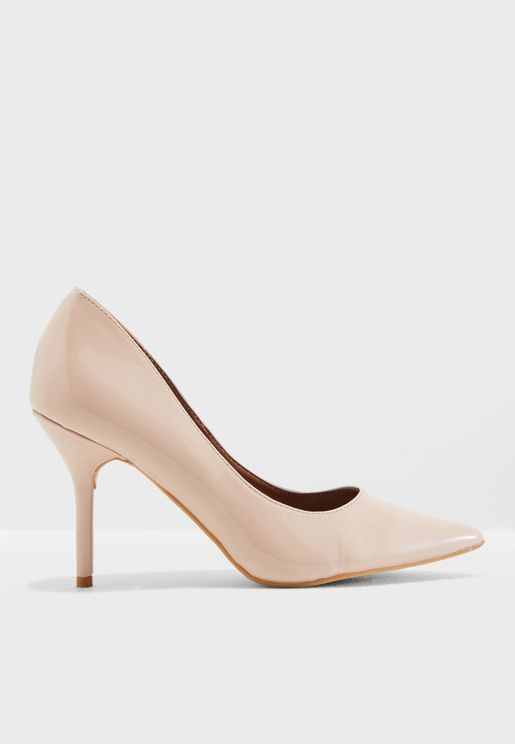 Meg Heeled Pump