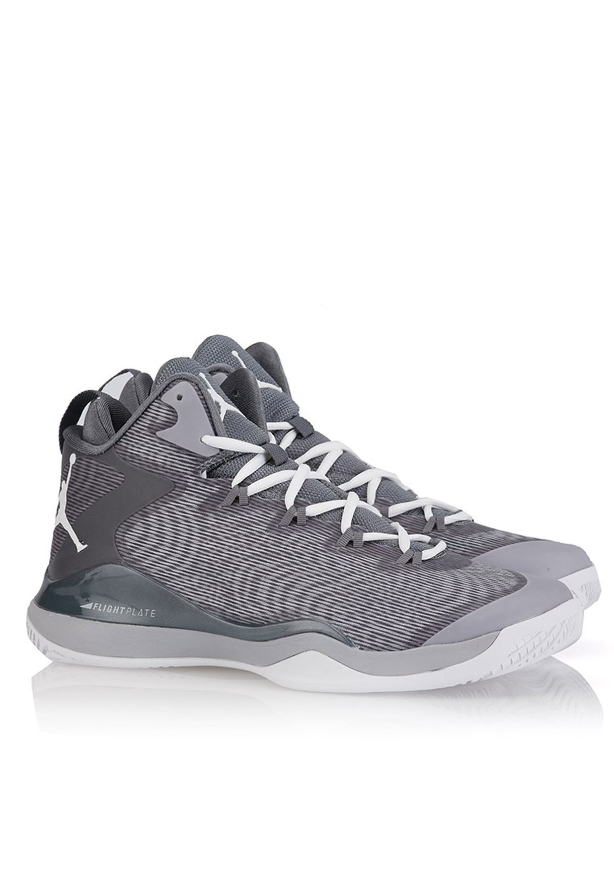 b2d1a698f378 Shop Nike grey Jordan Super.Fly 3 for Men in UAE - NI727SH47ZRG