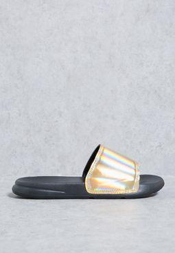 Gold Holographic Slides