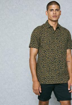 Spott Print Shirt