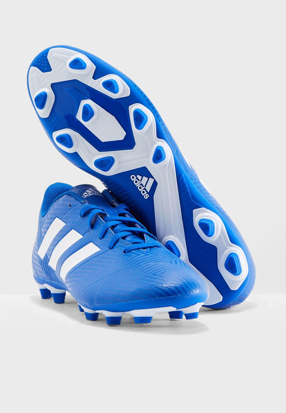 82ea25c29509 Shop adidas blue Nemeziz 18.4 FG DB2115 for Men in UAE - AD476SH47IDS