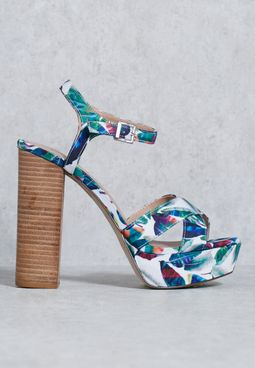 Thorerien Blocked Heel Sandals
