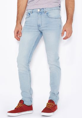 New Look Skinny Fit Light Wash Jeans