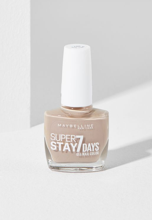 Super Stay C7 Days City Nudes Nail Polish 891 Barely Nude