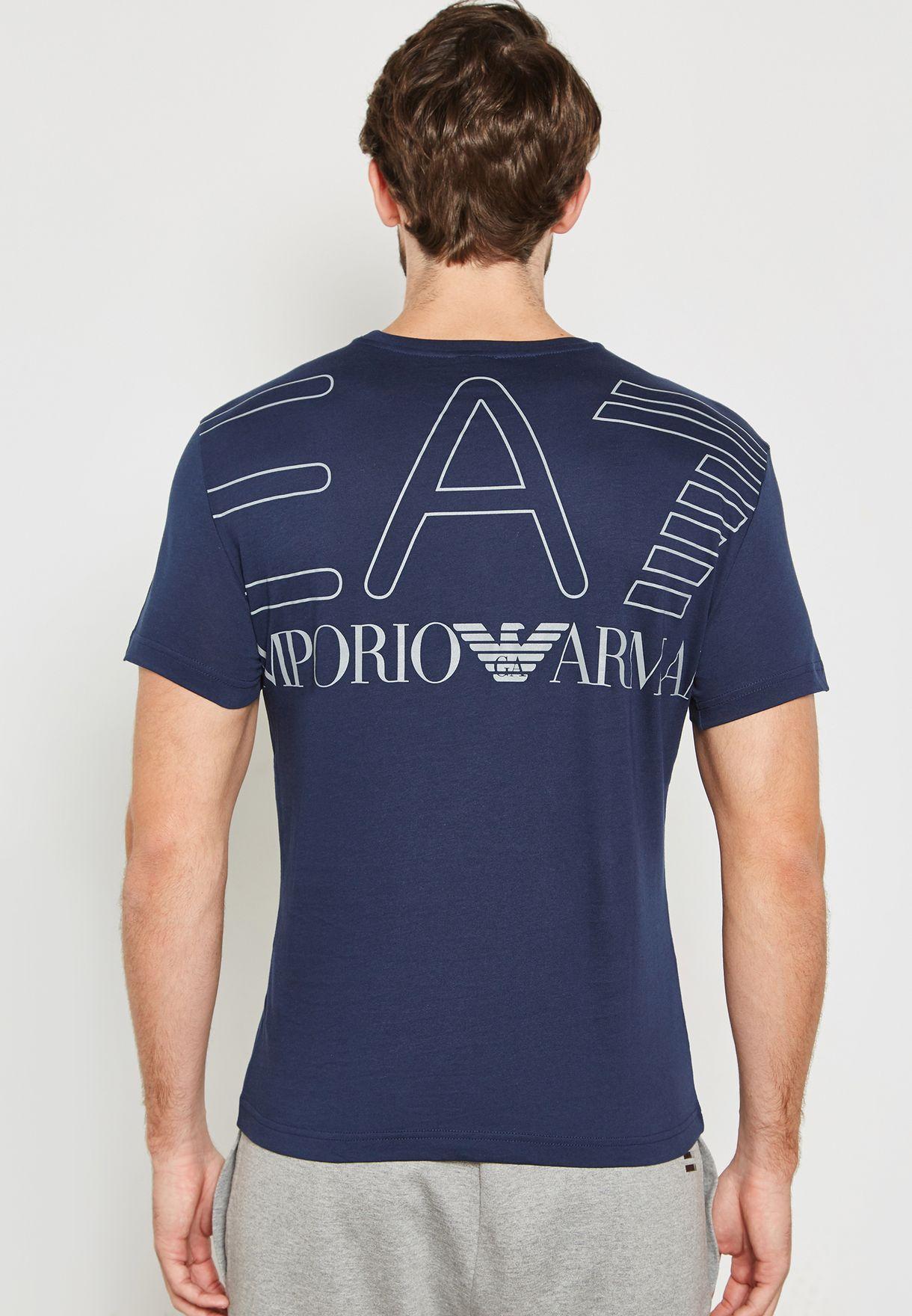 Train Big Logo Series Crew Neck T-Shirt