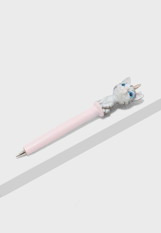 Unicorn Cat Novelty Pen