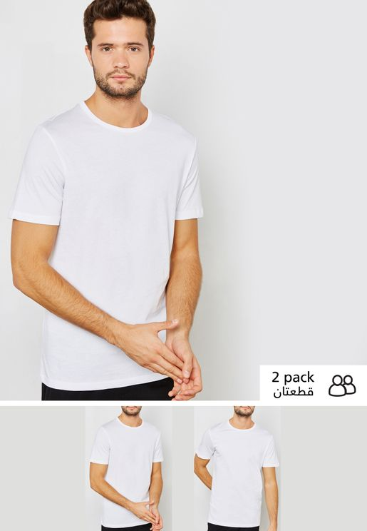 2 Pack Crew Neck T-Shirt