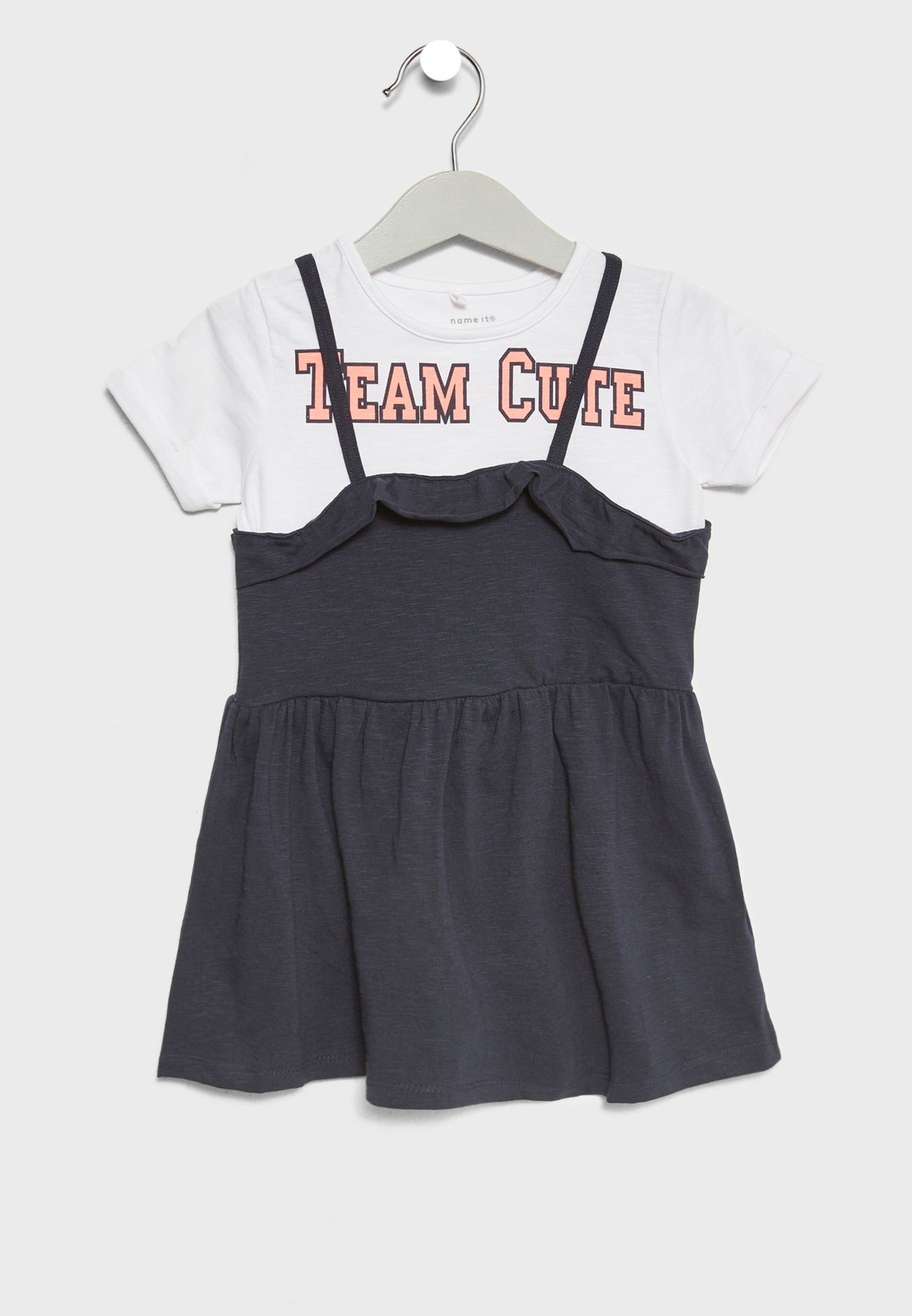 Infant T-Shirt + Dress Set