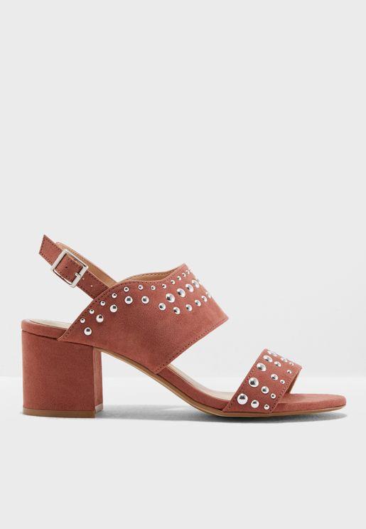 Sapphire Heeled Sandals