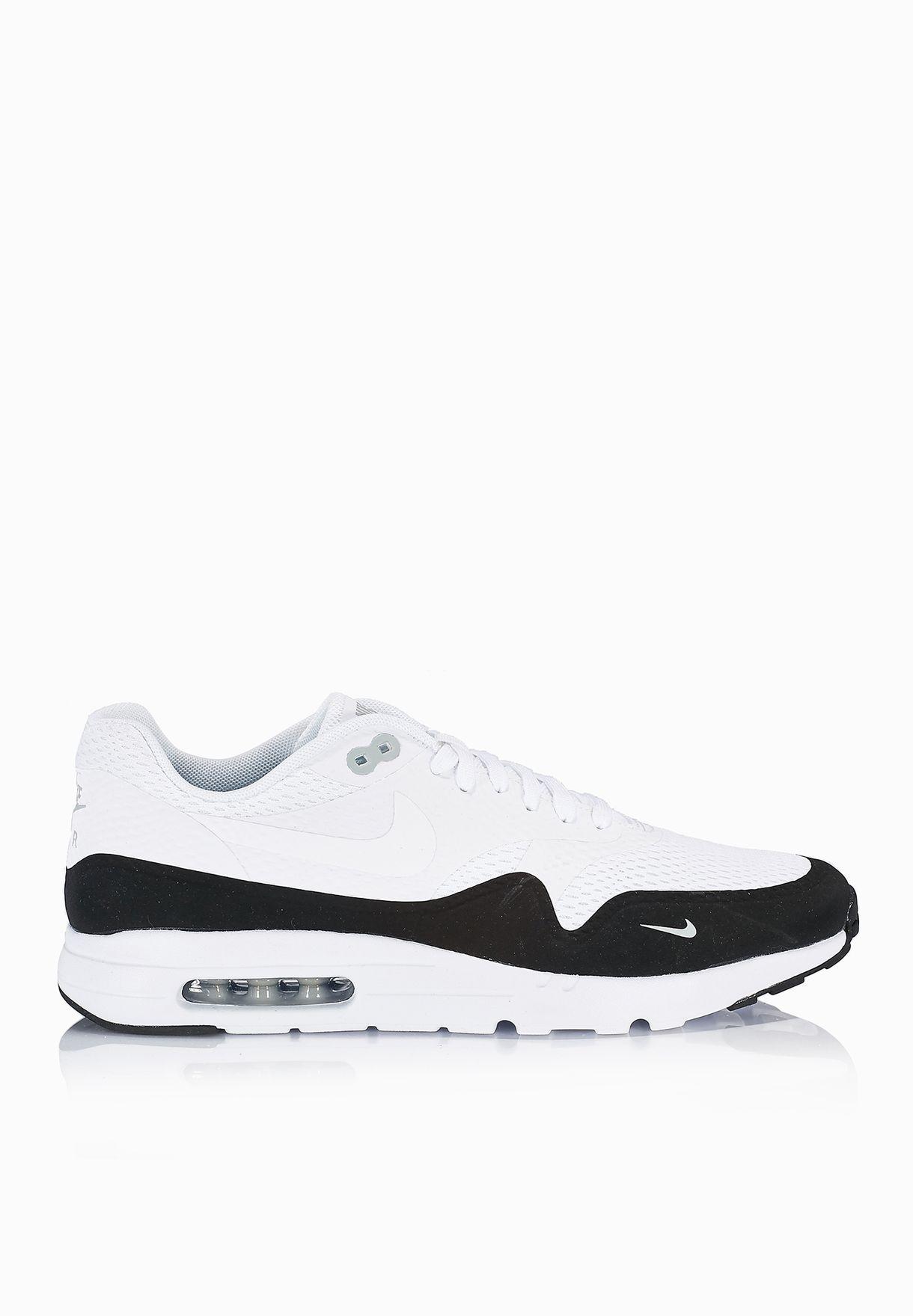 a26f2f9bce5e2 Shop Nike white Air Max 1 Ultra Essential 819476-101 for Men in ...