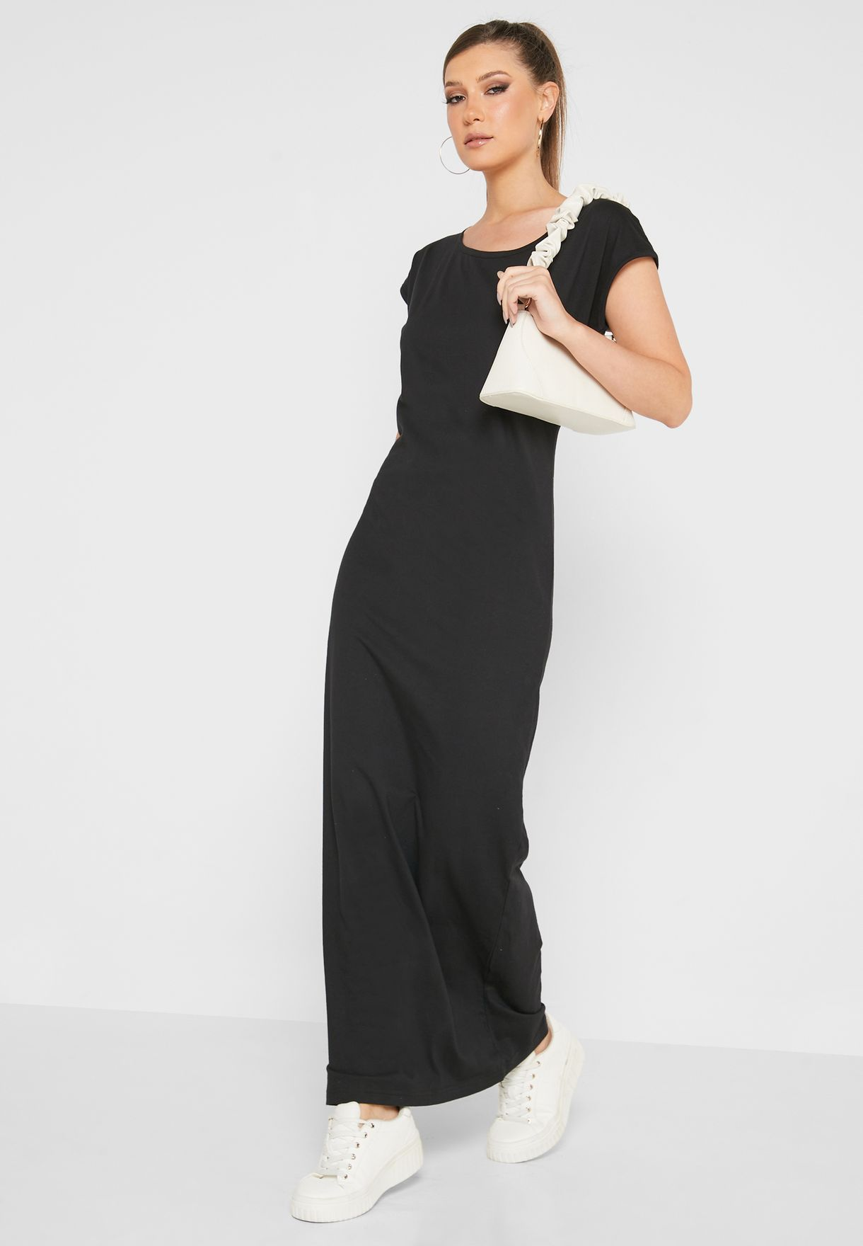 Relaxed T-Shirt Maxi Dress