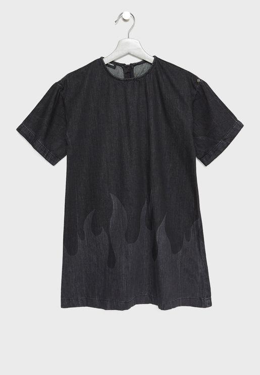 Teen Denim Dress