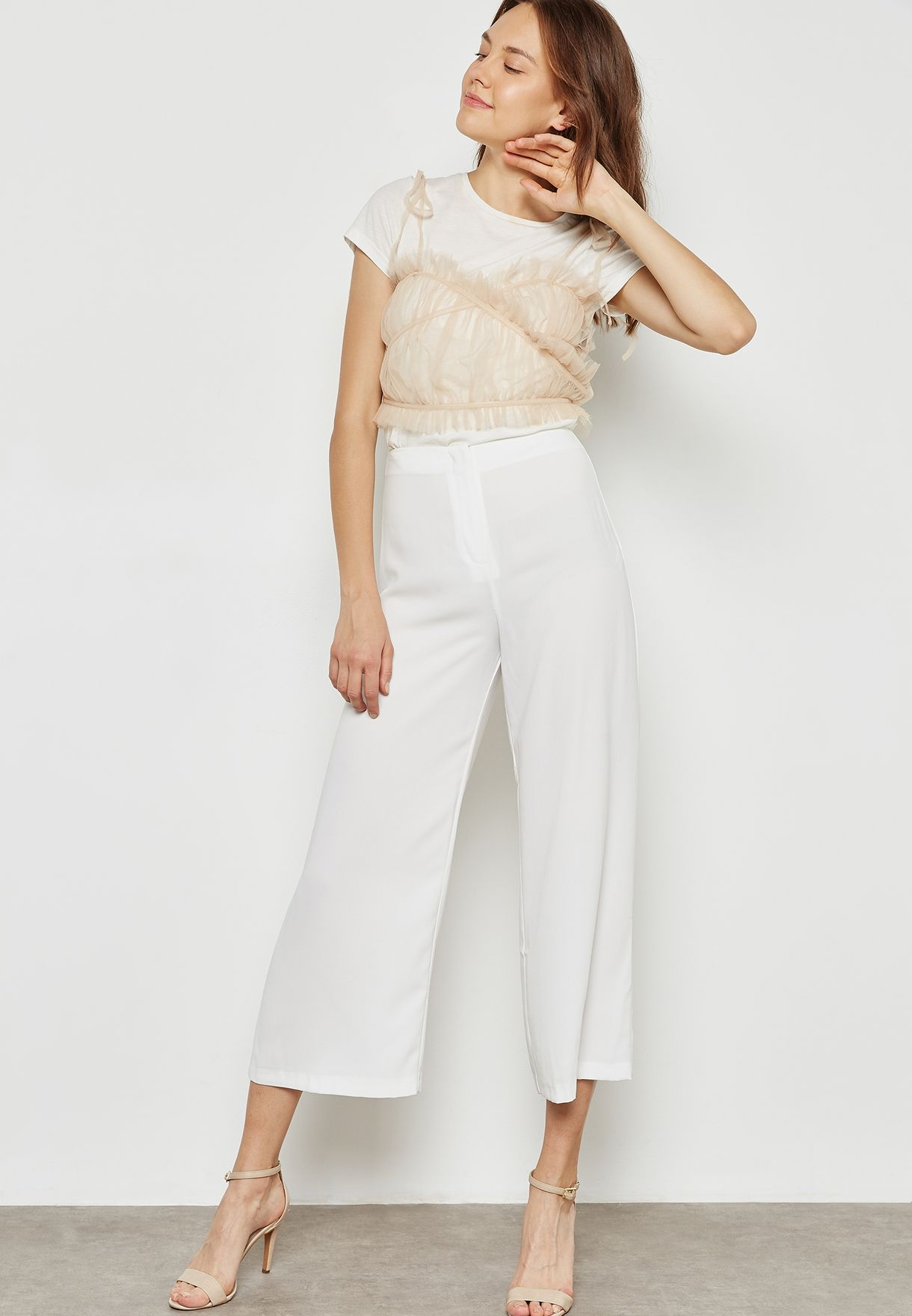 High Waist Culottes
