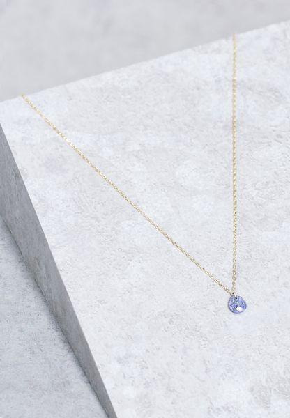 September Lapis Birthstone Necklace