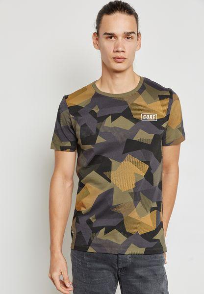 Dian Camo Print T-Shirt