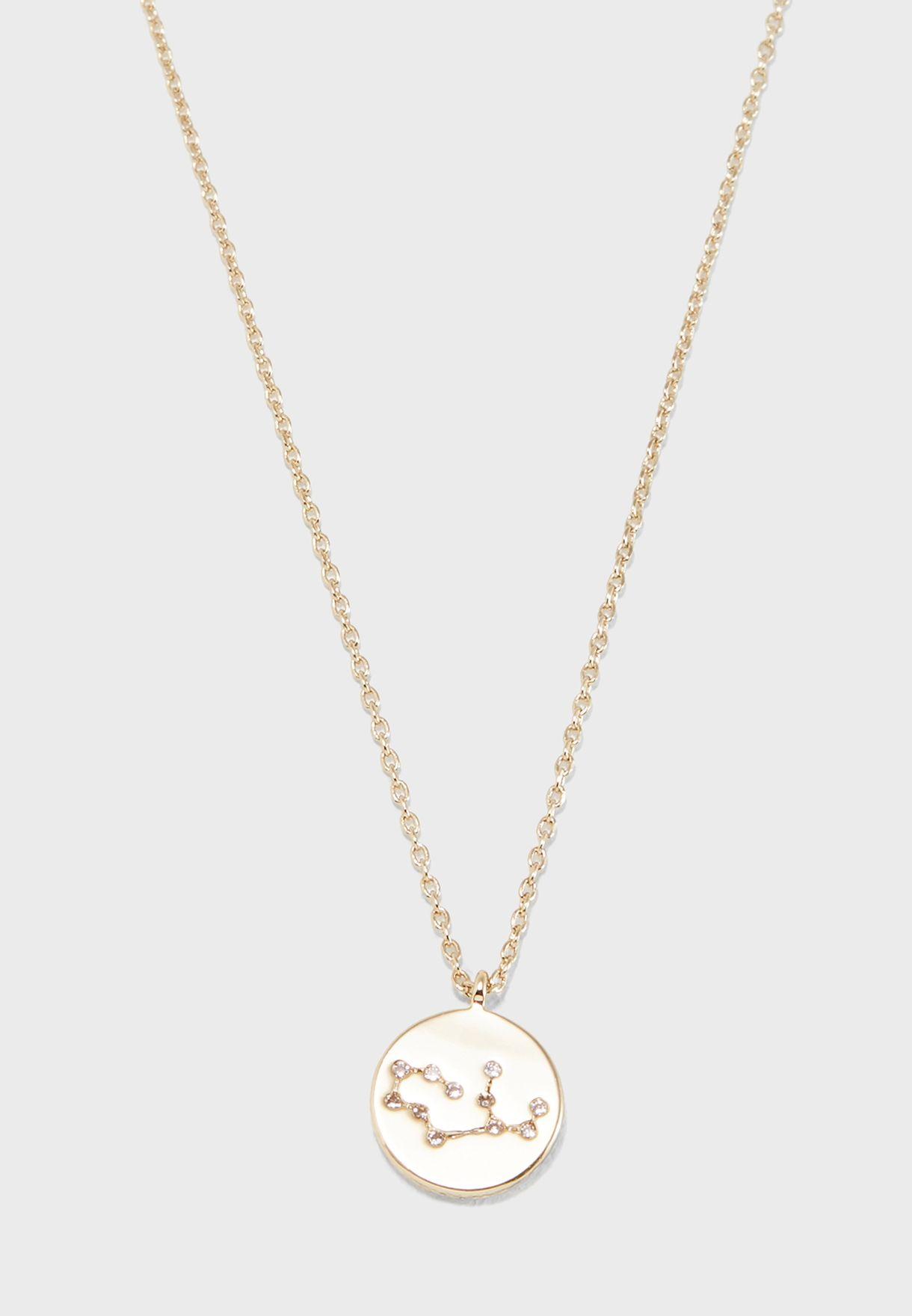 Gift Envelope Virgo Constellation Necklace